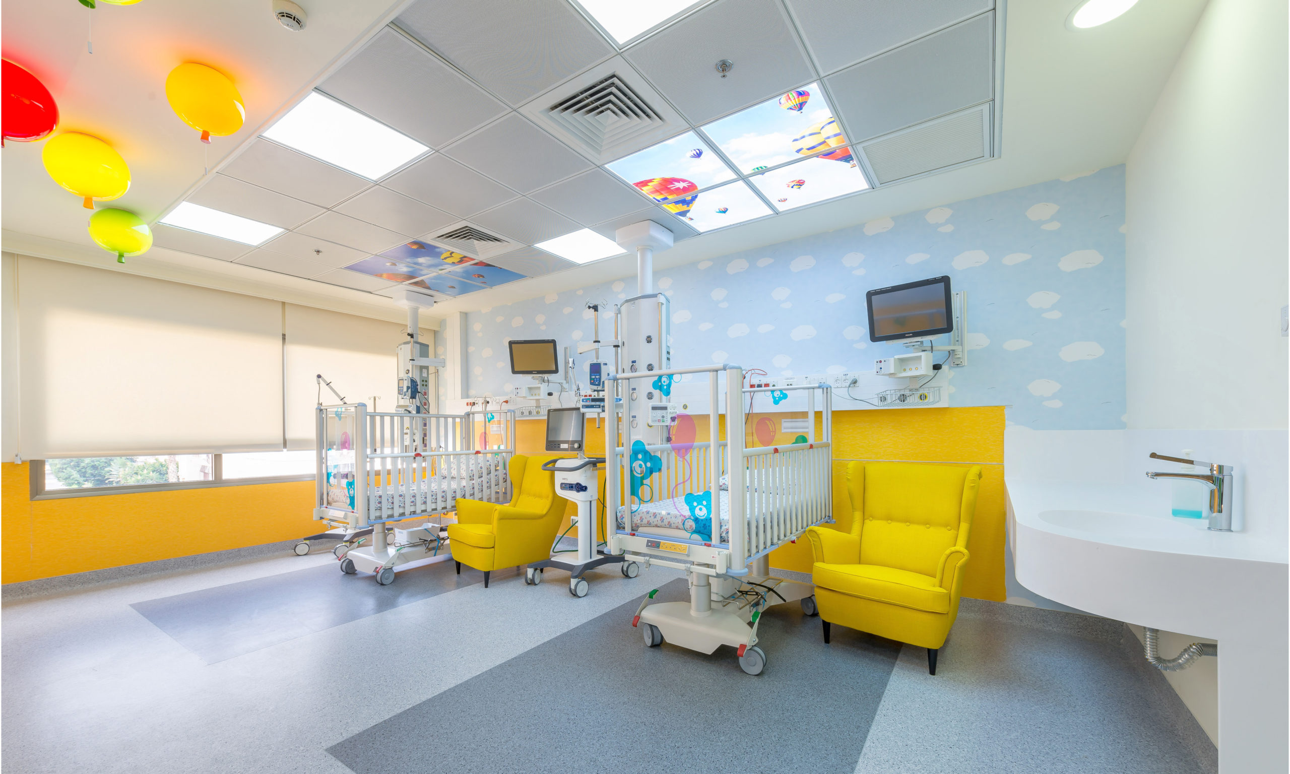 Beds of New PICU